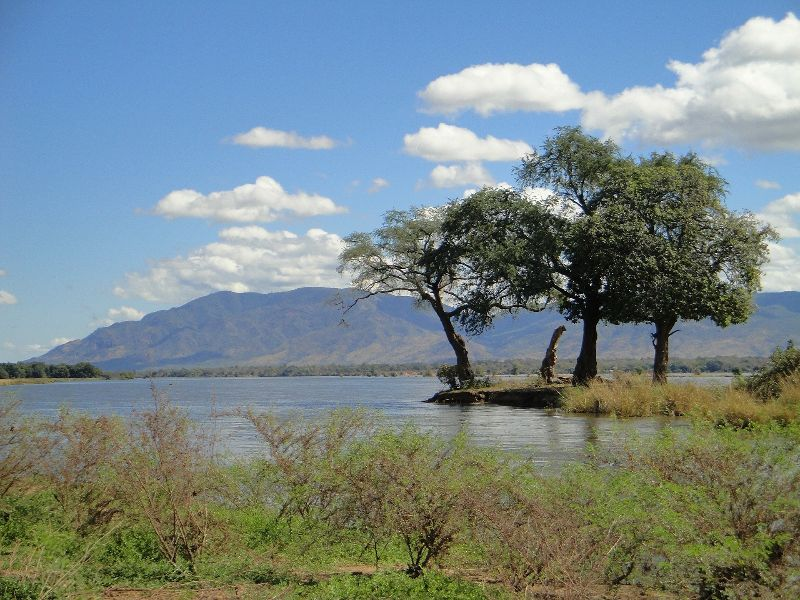 Sambia Landschaft